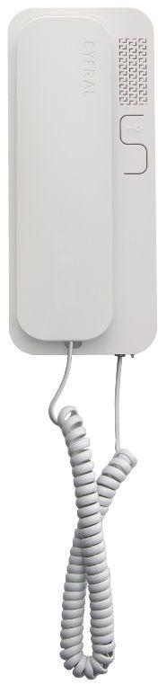 Unifon eura ''cyfral'' smart 5p biały uniwersalny (4,5,6) do domofonów analogowych - możliwość montażu - zadzwoń: 34 333 57 04 - 37 sklepów w całej polsce