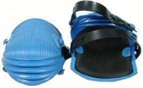 Nakolanniki ochronne gumowe niebieskie