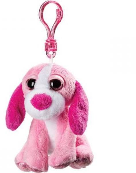 PROMO Breloczek różowy pies (11321)