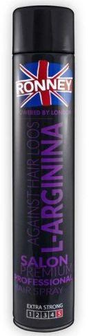 Ronney Against Hair Loss L-Arginina lakier do włosów 750 ml