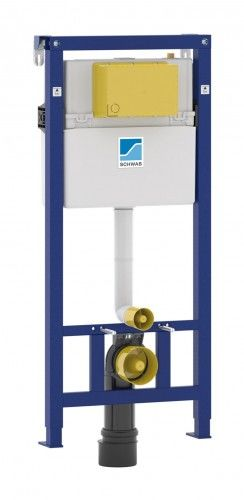 Stelaż podtynkowy WC 1160 x 500 mm SCHWAB DUPLO