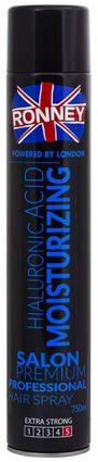 Ronney Hialuronic Acid Moisturizing nawilżający lakier do włosów 750 ml