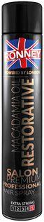 Ronney Macadamia Oil Restorative lakier do włosów 750 ml
