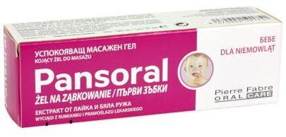 Pansoral żel na ząbkowanie 15 ml