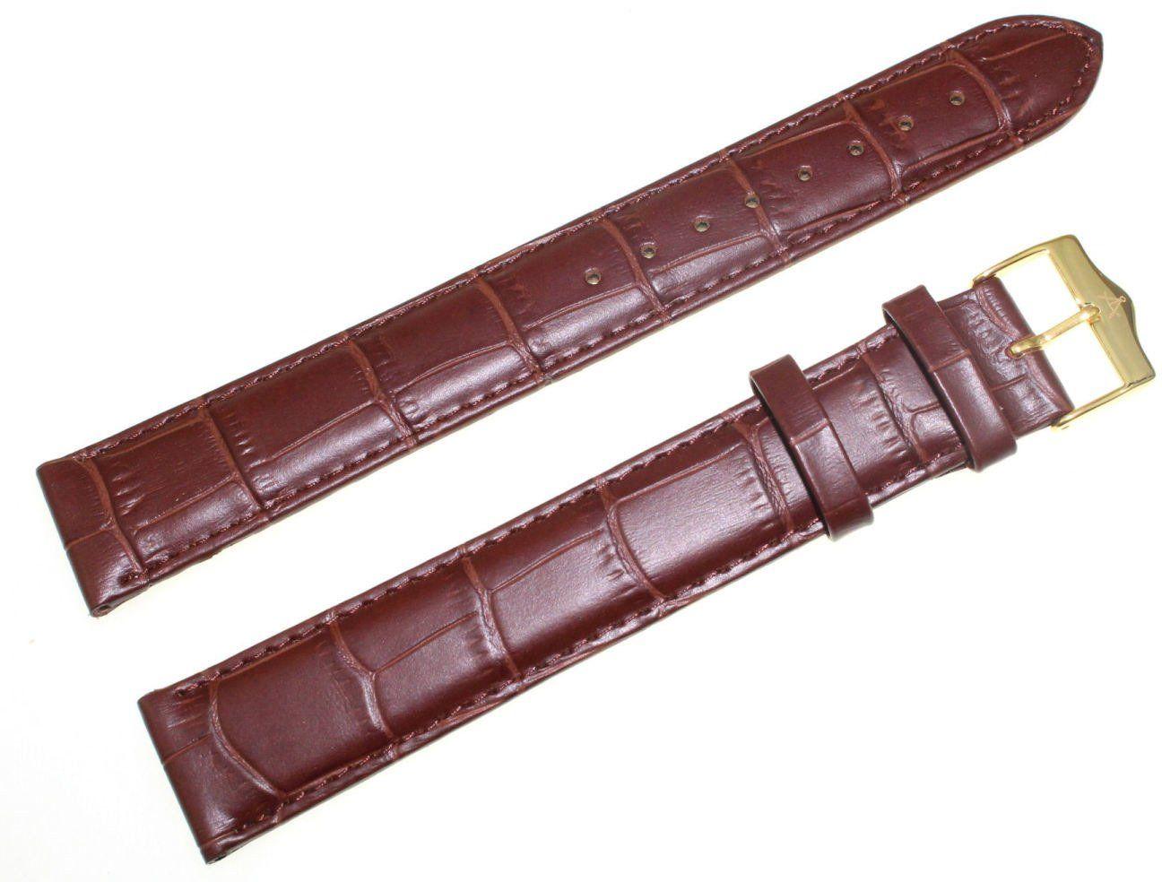 Pasek do zegarka Atlantic 20 mm brązowy XXL