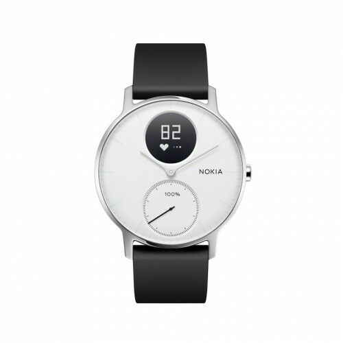 Withings Steel HR - smartwatch z pomiarem pulsu (biały 36mm)