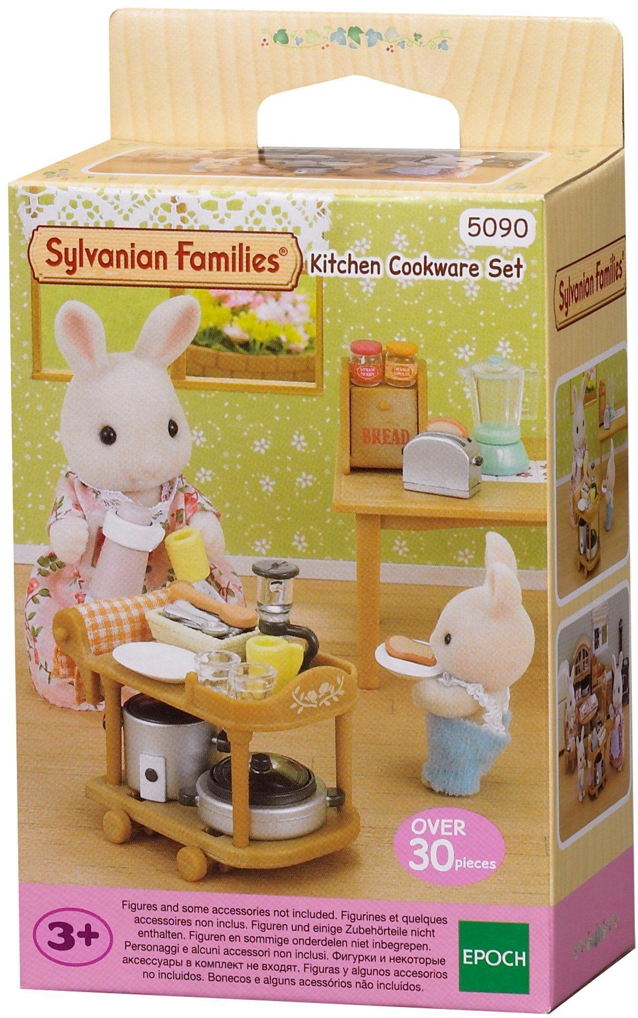 Sylvanian Families 5090 Zestaw przyborów kuchennych