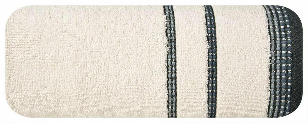 Ręcznik Kora 50x90 kremowy 500g/m2 Eurofirany