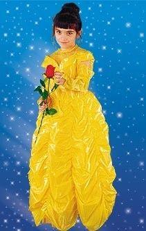 Strój karnawałowy Bella Piękna-żółta Sezamik
