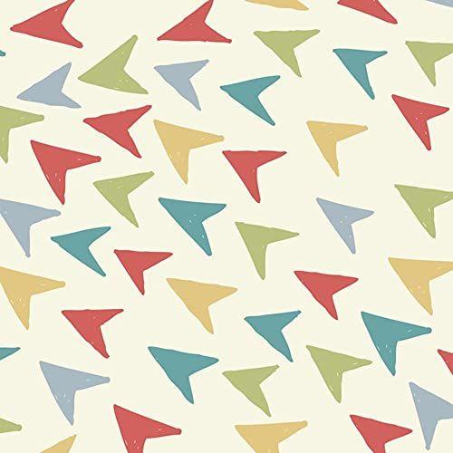 Pikowanie patchworkowe rękodzieło 100% bawełna tkanina wielokolorowe groty strzały wzór do szycia, krawiectwa, zasłony, ubrania od tkaniny wolność szerokość 114 cm  cena za metr kwadratowy (0,25 cm)
