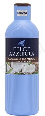 Felce Azzurra Kokos i bambus - płyn do kąpieli (650 ml)