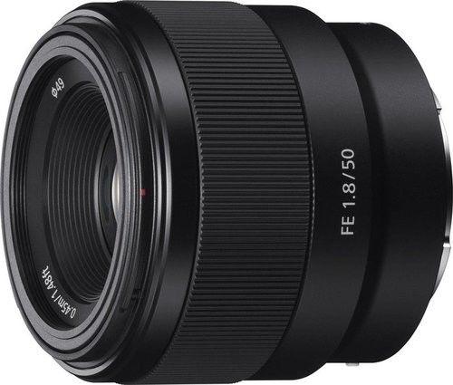 Sony FE 50mm f/1.8 (SEL50F18F) Czarny