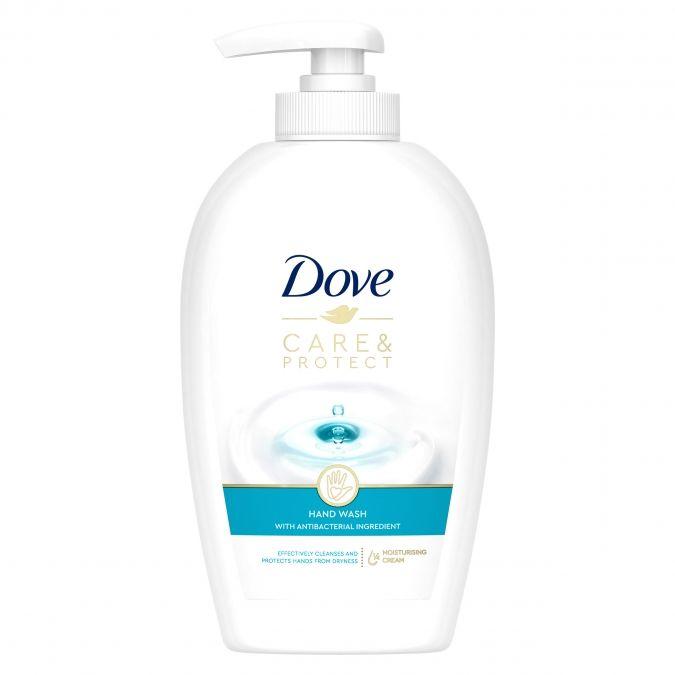 Mydło z pompką Dove Care&Protect 250ml