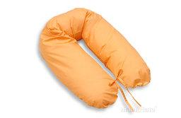 MAMO-TATO Poduszka dla ciężarnych kobiet Serduszka w łososiu - WYPRZEDAŻ