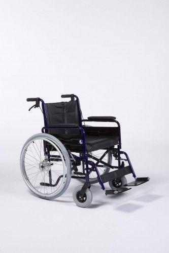 Wózek inwalidzki ręczny dla osób ciężkich 28/55