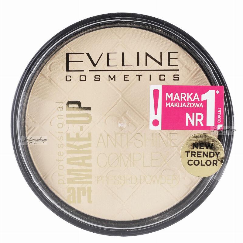 Eveline Cosmetics - Art Make-Up - Anti-Shine Complex Pressed Powder - Puder mineralny z jedwabiem - 30 IVORY