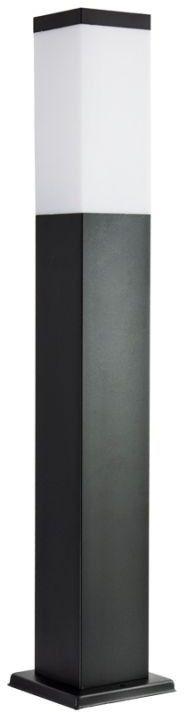 Lampa stojąca ogrodowa Inox Kwadratowa Black SS802-650 BL czarna IP44 - Su-ma Do -17% rabatu w koszyku i darmowa dostawa od 299zł !