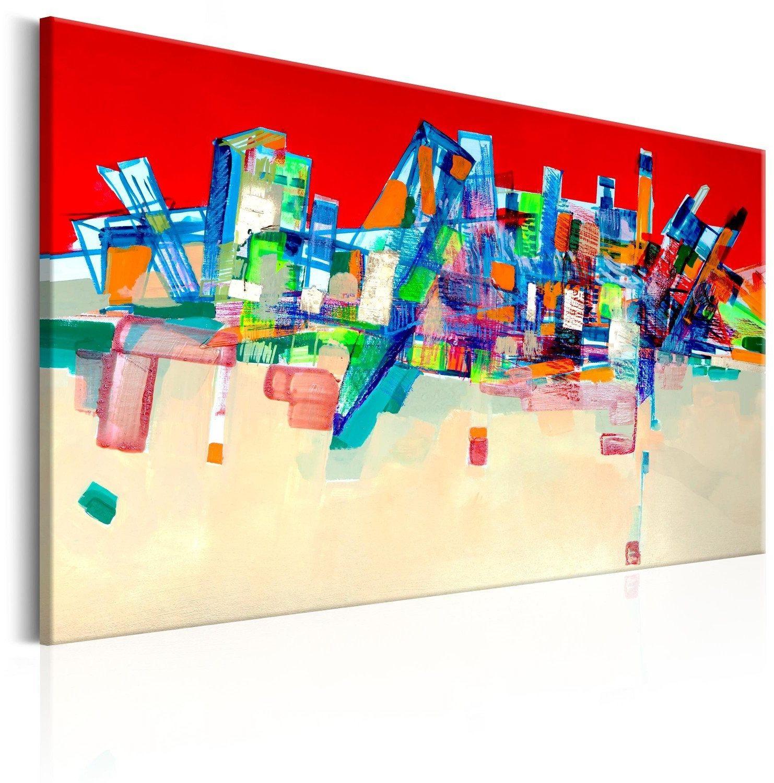 Obraz - abstrakcyjna architektura