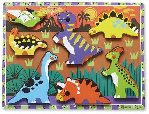 Melissa & Doug puzzle 3d dinozaury