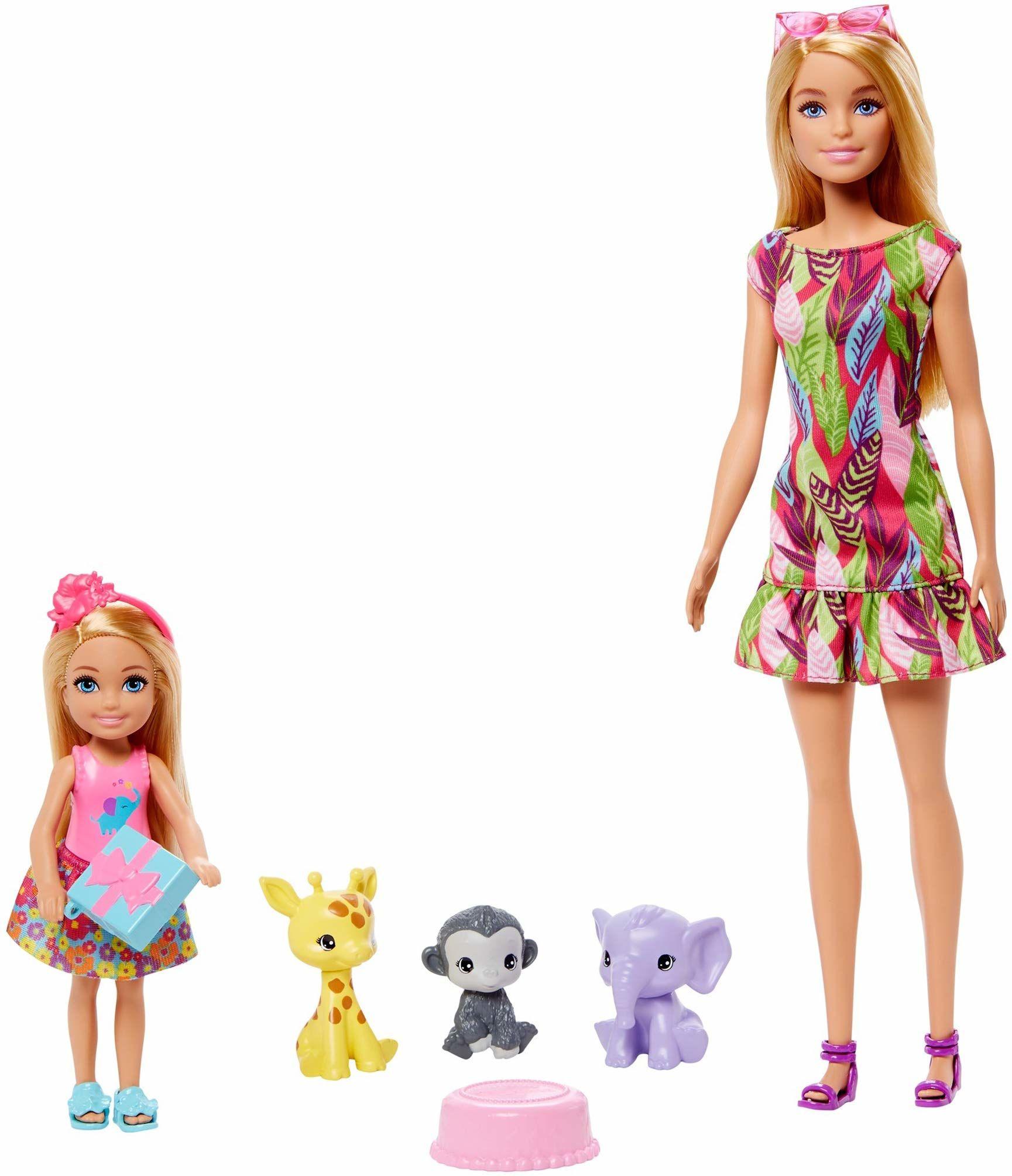 Barbie GTM82 DHA SP-Barbie & Chelsea zestaw historii