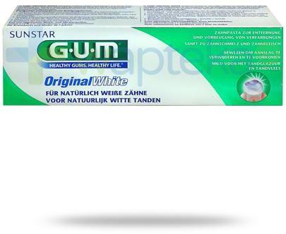 GUM Original White pasta do zebów 75 ml