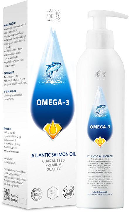 Olej z łososia atlantyckiego 100 ml