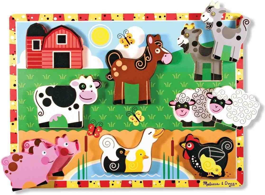 Melissa & Doug puzzle 3d wiejskie zwierzęta