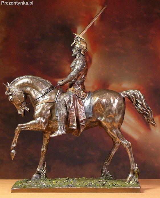 Ryszard Lwie Serce na koniu