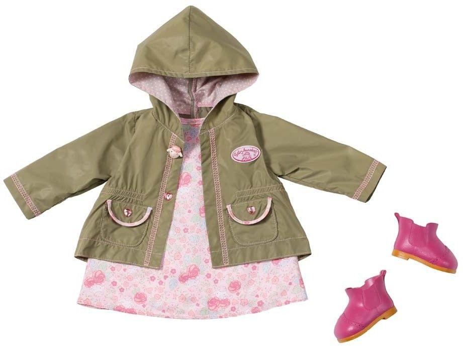 Baby Annabell - Ubranko Deluxe z oliwkową kurteczką 794616