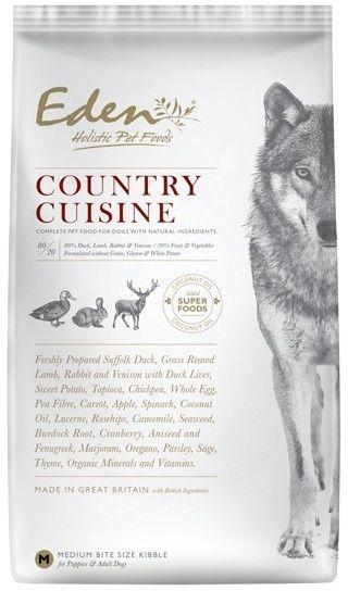 Eden holistic Country Cuisine Medium & Large breed 12kg