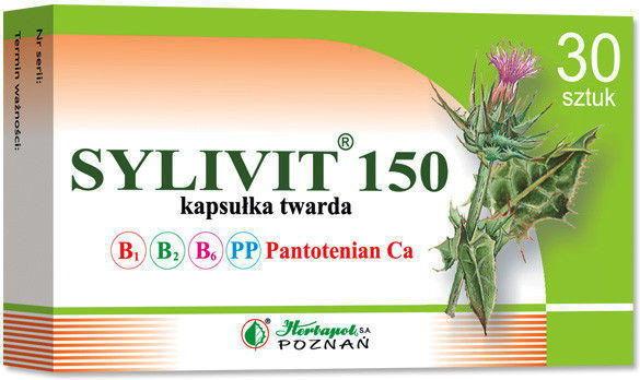 Sylimarol Vita (Sylivit) 150mg 30kaps.