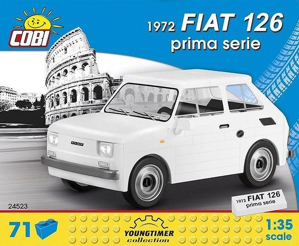 Klocki Cars 1972 Fiat Prima Serie