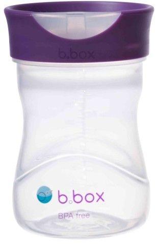 Kubek treningowy 240 ml, winogronowy, b.box