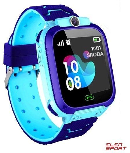 Zegarek smartwatch dla dzieci lokalizator GPS Q12 niebieski