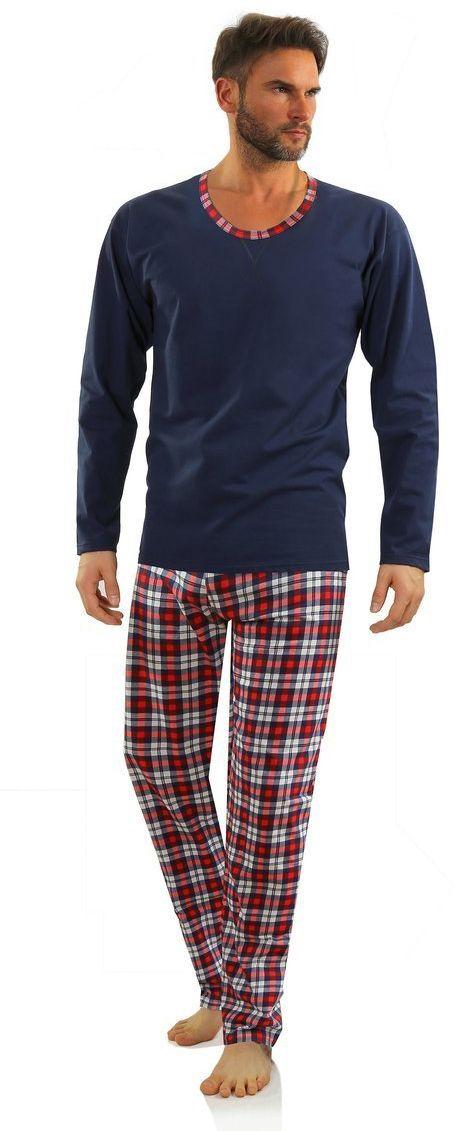 Bawełniana piżama męska WALDI Sesto Senso