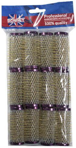 Metalowe wałki do włosów Ronney 25/63 mm