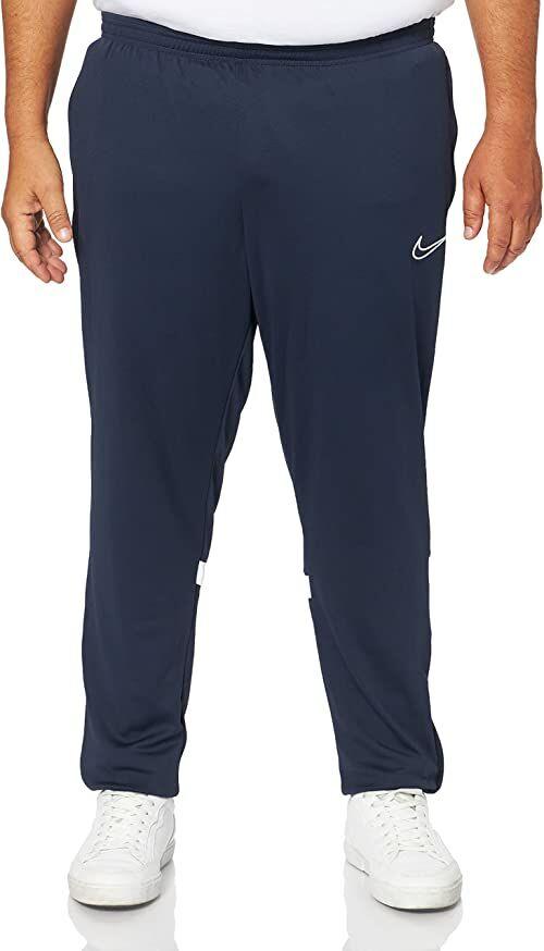 Nike Męskie spodnie do biegania Dri-fit Academy niebieski Obsydian/biały/biały/biały S