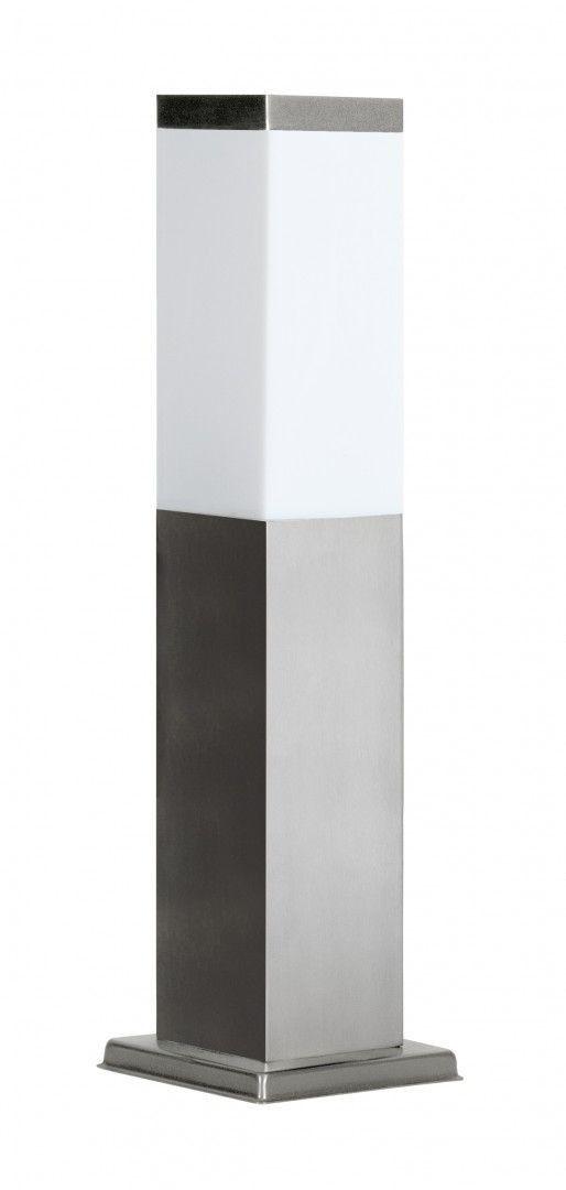 Lampa stojąca ogrodowa Inox Kwadratowa SS802-450 Stal nierdzewna IP44 - Su-ma Do -17% rabatu w koszyku i darmowa dostawa od 299zł !