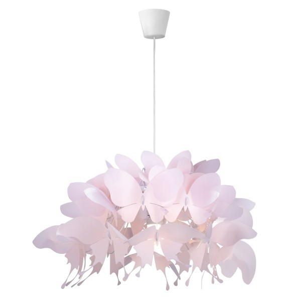 Lampa wisząca Farfalla 1 motylki różowa LP-MD088-3439A - Light Prestige Do -17% rabatu w koszyku i darmowa dostawa od 299zł !