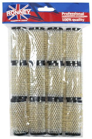 Metalowe wałki do włosów Ronney 28/63 mm
