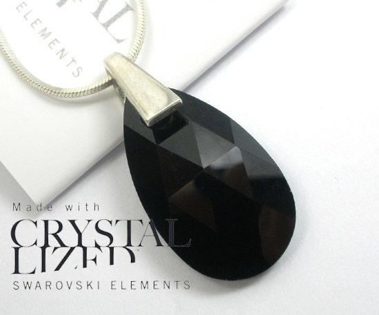 Kryształy Wisiorek+łańcuszek Srebro CERTYFIKAT