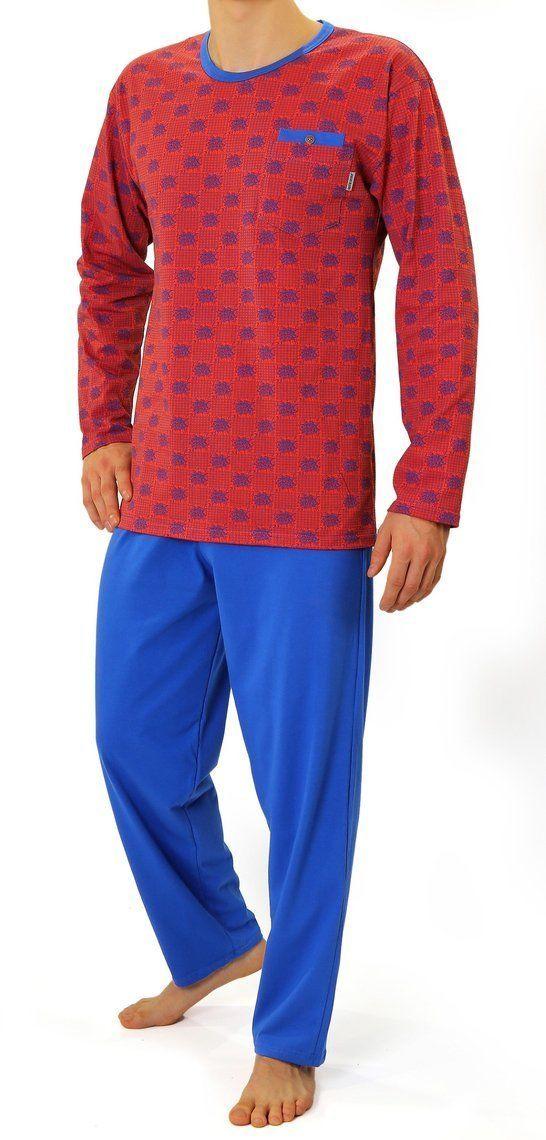 Bawełniana piżama męska Sesto Senso 01