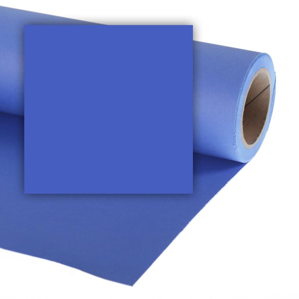 Colorama CO191 Chromablue - tło fotograficzne 2,7m x 11m