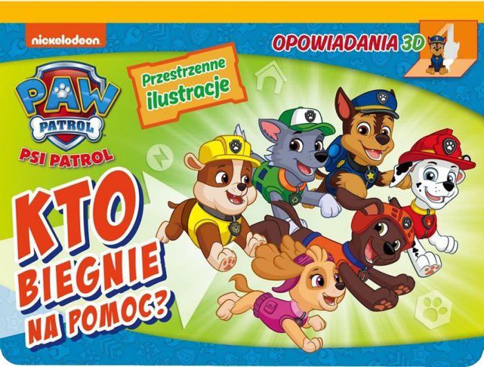 Psi Patrol Opowiadania 3D Kto biegnie na pomoc? (rozkładanka)
