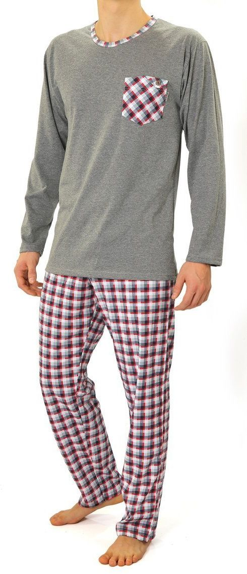 Bawełniana piżama męska Sesto Senso 04