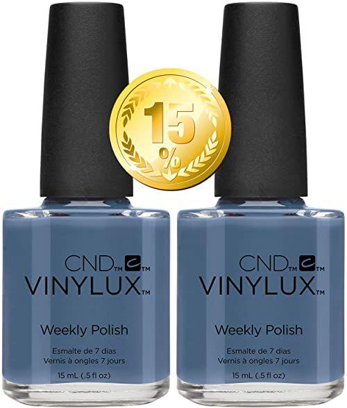 CND Vinylux Denim Patch # 226 15 ml - Pack of 2 - Craft Culture Collection Autumn 2016, 50 g