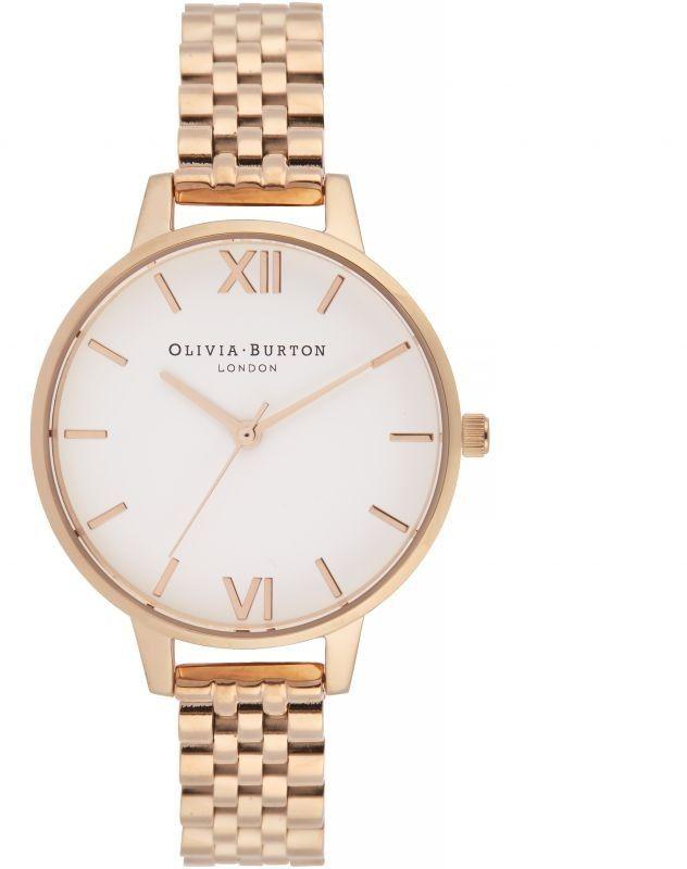 Zegarek damski Olivia Burton White Dial Demi Dial Watch OB16DEW01