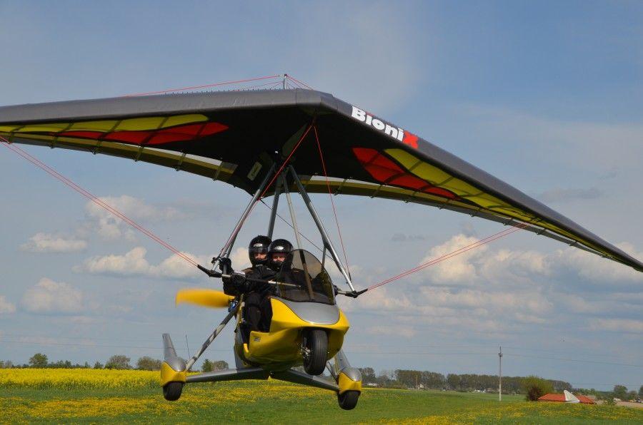 Podniebne przeżycia na pokładzie nowoczesnej motolotni Air Creation! - Toruń - 60 minut