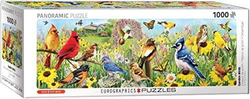 Eurographics 60105338 ptaki ogrodowe puzzle, różne