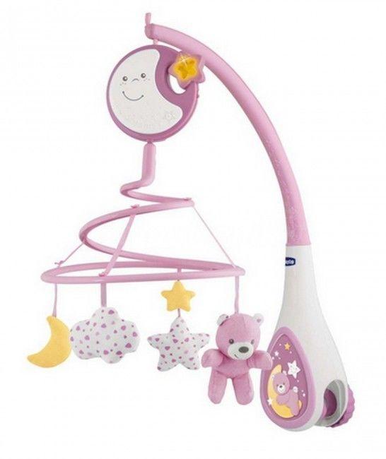 Chicco First Dreams - Karuzela na łóżeczko Next2Dreams różowa 76271